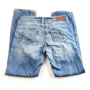 Womens Big Star Miki distressed jeans 32R G9